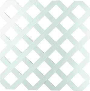 Universal Forest 79897 4x8 Ft White Traditionl Lattice