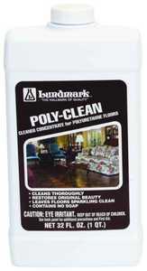 Lundmark Wax Co. 3227F32-6 Polyclean Wood Floor Cleaner32 Oz