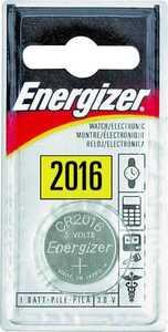 Energizer Battery ECR2016BP Watch/Calculator Battery