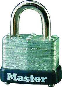 Master Lock 22T 1-1/2-Inch Wide Laminated Steel Selflock Padlock 2-Pack