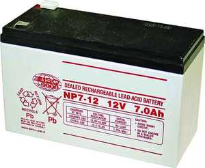 GTO, Inc. FM150 12v 7amp/Hr Gate Opener Battery