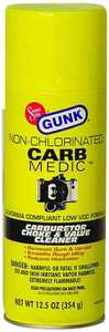Gunk M4815NC 12 oz Nonchlor Carb Cleaner