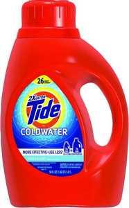 Procter & Gamble 13755 Tide Liquid Coldwater Laundry Detergent 50 oz