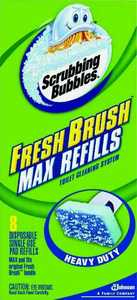 Sc Johnson 22148 Scrubbing Bubbles Fresh Refill