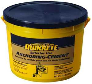 Quikrete 1245-11 Anchoring Cement 10#
