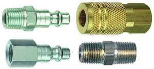 Plews/Edelmann 13-203 1/4 in I/M Air Coupler /Plug Kit