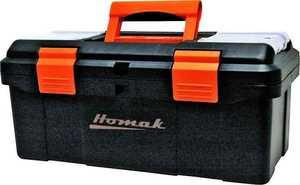 Homak BK00116004 16-Inch Plastic Tool Box