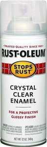 Rust-Oleum 7701830 Protective Crystal Clear Enamel 12 oz