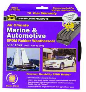 M-D Building Products 01033 Auto All Weather Weatherstrip