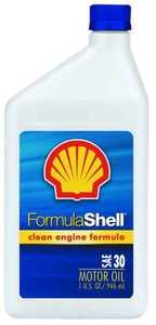 Pennzoil Products 550024070 Formula Shell Sae 30 Oil Quart