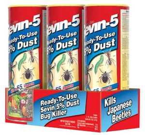 Gulfstream Home & Garden S7013 Sevin 5% Dust 1lb. Shaker 3pk