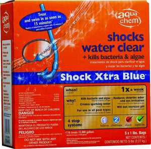 Biolab 22855AQU Shock Xtra Blue 5pk