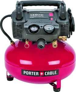 Porter-Cable C2002 Air Compressor 150 PSI 6 Gal