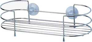 Homebasix SS-SC-29-CH Chrome Shower Caddy Tray