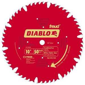 Freud D1050X 10 in 50tht Combo Blade Diablo