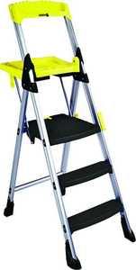 Cosco Products 11003ABL1 Ladder Platform 3-Step