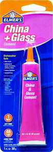 Elmer's Products E1012 1 oz China & Glass Cement
