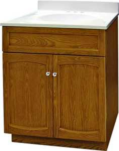 Foremost Groups HEO2418 24x18 Oak Heartland Oak Vanity
