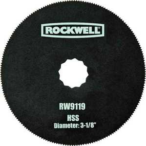 Rockwell RW9119 Sonicrafter Hss Blade 3-1/8 in
