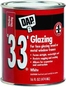 Dap 12121 Pt White Glazing Compound