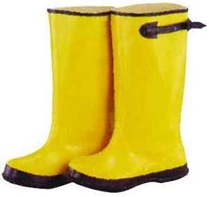 Diamondback RB001-12-C Size 12 Yellow Overshoe Boot