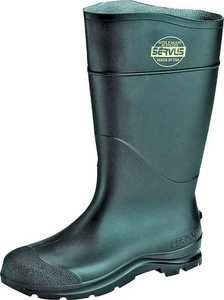 Norcross Safety 18822-10 Size 10 Black Pvc Boot 16 in