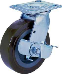 MintCraft JC-P06 6 in x2 in Plate Caster W/Brake