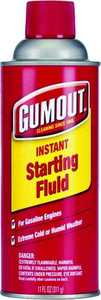 Shell Car Care 5072866 11 oz Gumout Starting Fluid