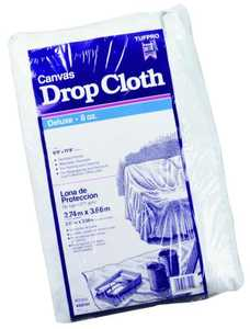 Trimaco 58901 9x12 ft 8 oz Cotton Dropcloth