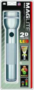 Mag Instrument ST2D096 Mag Flashlight Led 2d-Cell Gray