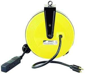 Power Zone PZ-800 30 ft 3tap Metal Retract Reel