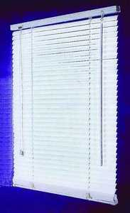 Homebasix MBV-34X64-3L 34w X 64h White Vinyl Mini Blind