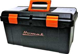 Homak BK00122006 Tool Box Plastic 23 in