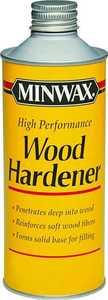 Minwax 41700000 16 Oz Hi-Perf Wood Hardener