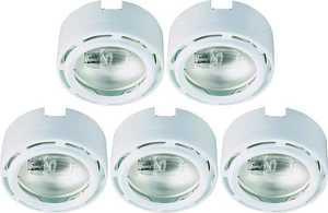 Good Earth Lighting G9165120-WHX-I G9165120-WHX-I 5X20W LINK PUCK