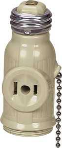Cooper Wiring 718V-BOX 660w Pullchain Socket Adapter