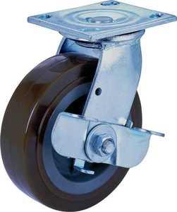 MintCraft JC-P08 8 in x2 in Plate Caster W/Brake