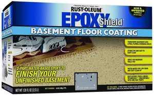 Rust-Oleum 203007 Epoxyshield Basement Gray Floor Kit