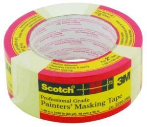 3M 2050-2 2 in x60yd Masking Tape