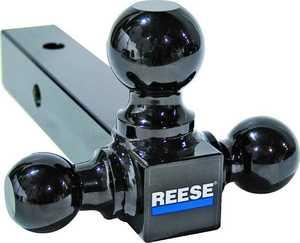Reese Towpower 21512 Black Tri Ball