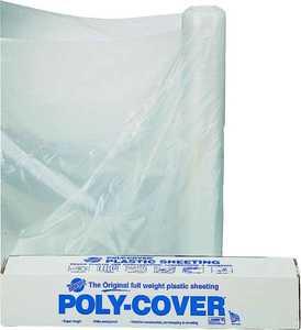 Lbm Poly 4X10-C 10x100 ft 4mil Clear Poly Film