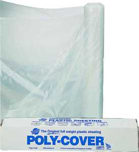 Lbm Poly 6X10-C 10x100 ft 6mil Clear Poly Film