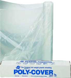 Lbm Poly 6X20-C 20x100 ft 6mil Clear Poly Film