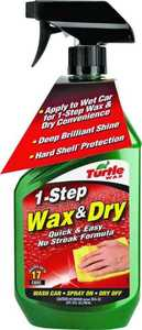 Turtle Wax T9 T9 1-Step Wax & Dry 26 oz