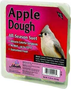 HEATH MFG DD-13 All Season Apple Dough Suet 11.25 oz