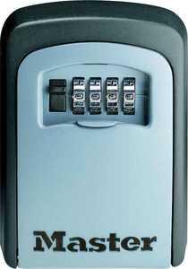 Master Lock 5401D 3-7/8 x 4-5/8-Inch Wall Mount Combination Key Storage