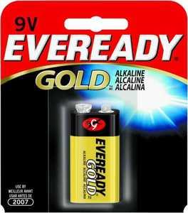 Energizer Battery A522BP Eveready Alkaline 9v Battery