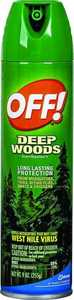 Sc Johnson 22930 9 oz Deep Woods Off Aerosol