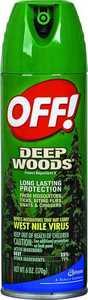 Sc Johnson 01842 Deep Woods Off Aerosol 6-Oz