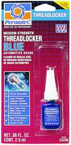 Permatex Inc 24206 2.5ml Blu Threadlocker